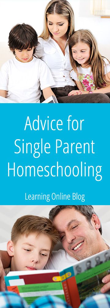 Considering single parent homeschooling or already doing it? Check this out for helpful advice.