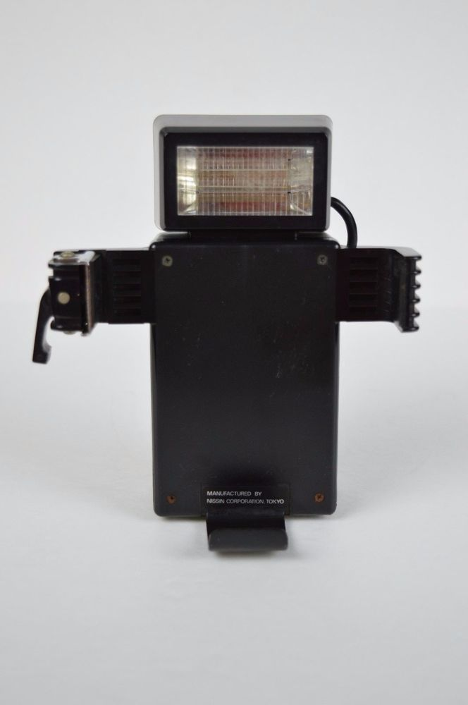 nissin fsp flash for polaroid sx 70 camera tested made in. Black Bedroom Furniture Sets. Home Design Ideas