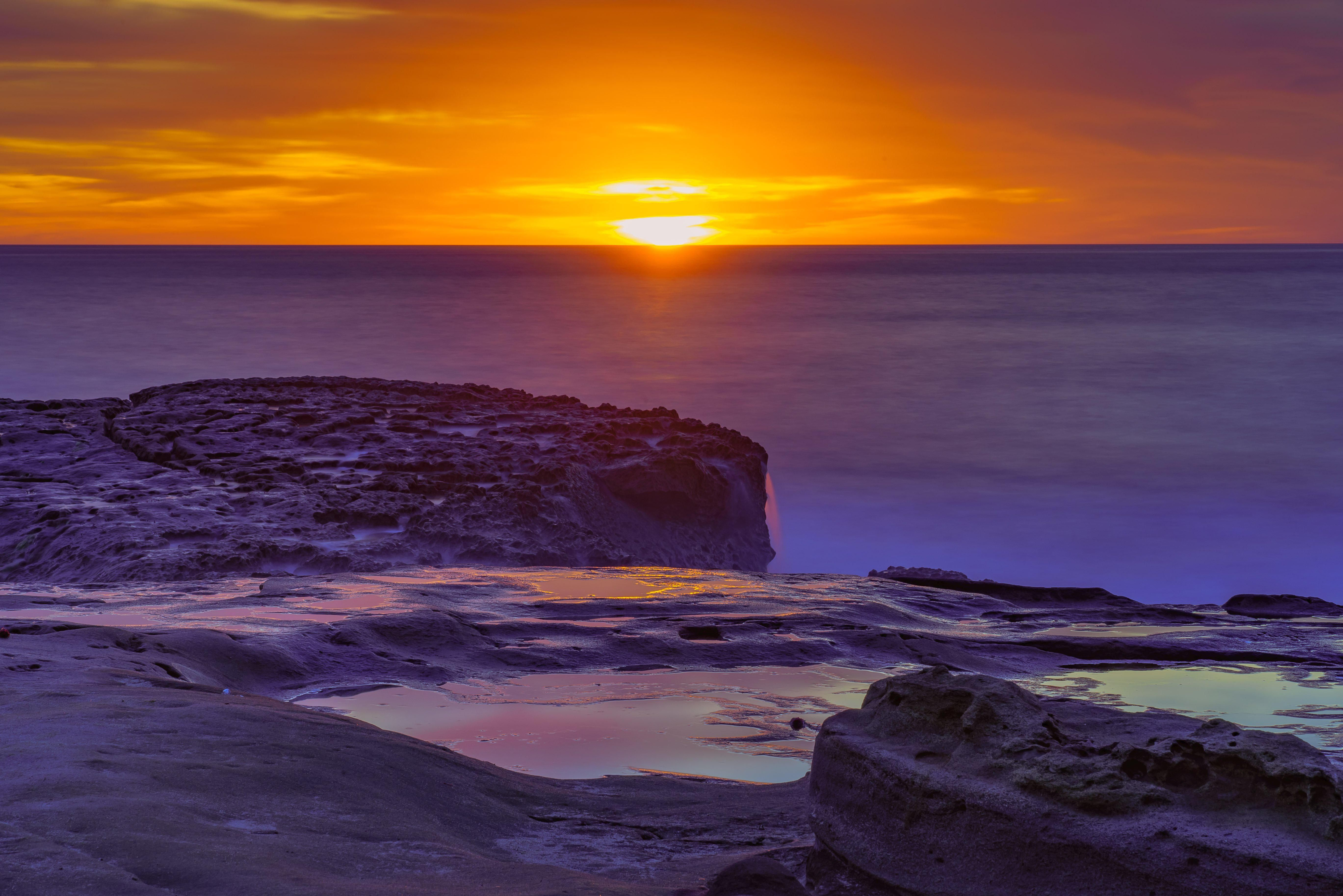 Ocean Beach San Diego Sunset Digital Download Sunset Images Landscape Photography Sunset Photography