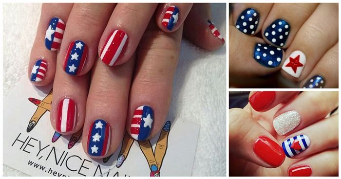 22 Stunning Patriotic Nail Designs To Show Off This Fourth Of July