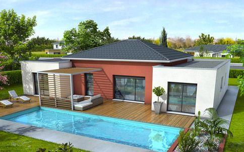 Plan maison moderne Mahé Abel_Herceg major Pinterest House - Modeles De Maisons Modernes