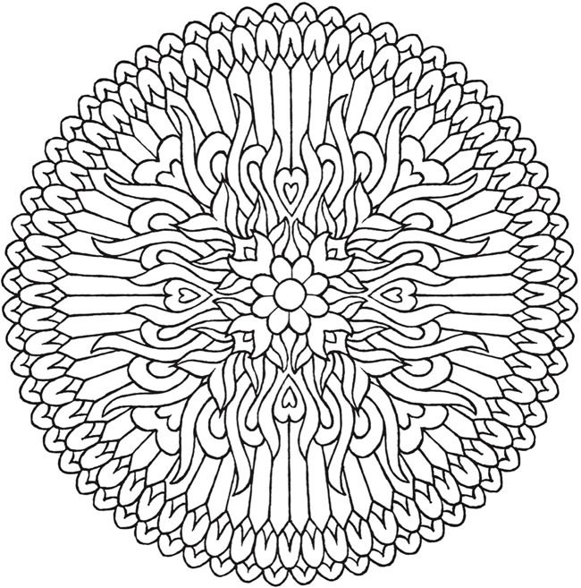 Creative Haven Magical Mandalas Coloring Book By the Illustrator of - copy extreme mandala coloring pages