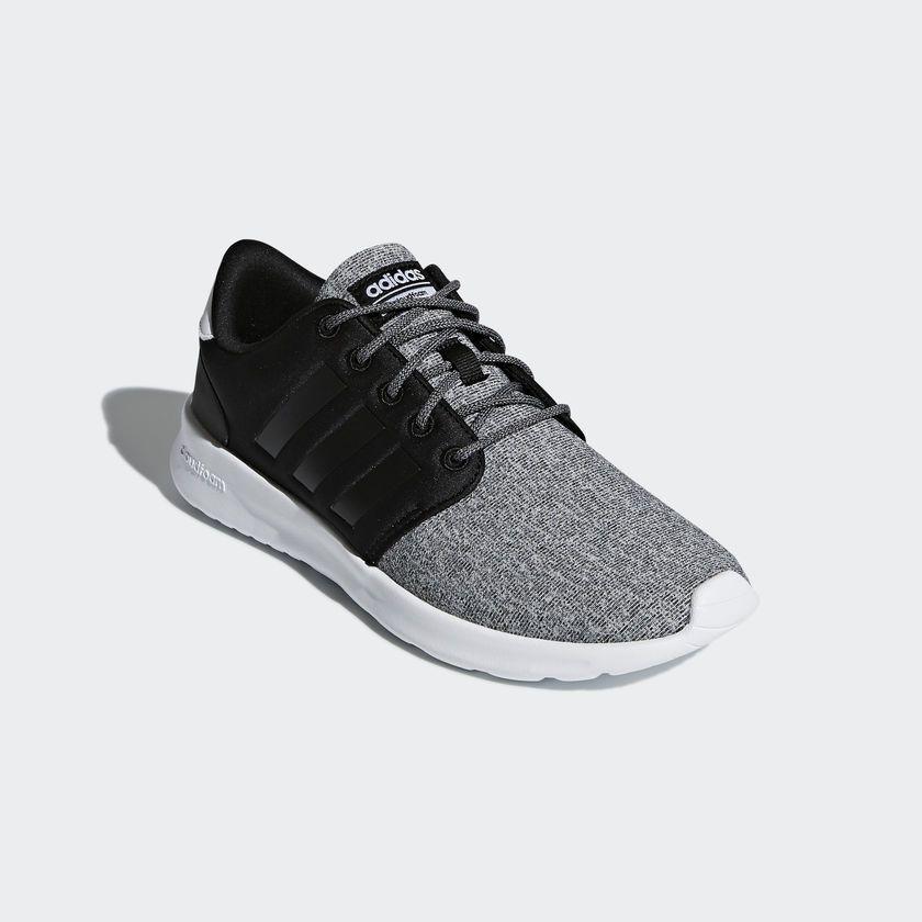 Zapatillas adidas Cloudfoam Pure Negro y Blanco