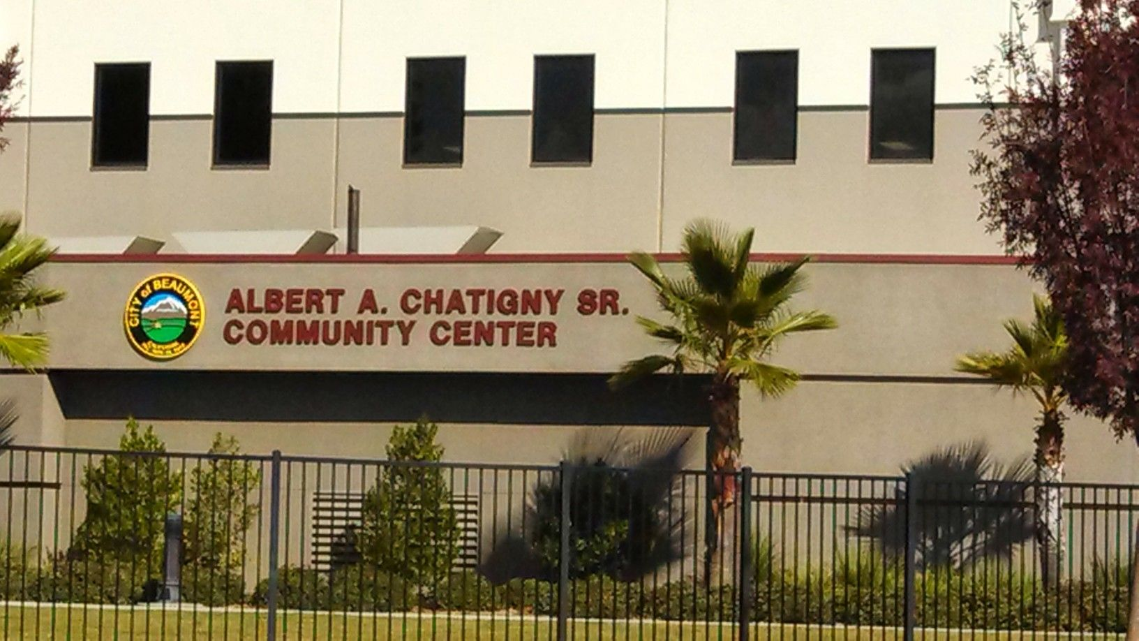 Albert A Chatigny Sr Community Center In Beaumont California This Is Near The Sundance Community Beaumont California Sale House