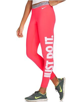 41029b8993 Nike Pro Hyperwarm Mezzo Active Leggings - Activewear - Women - Macy s