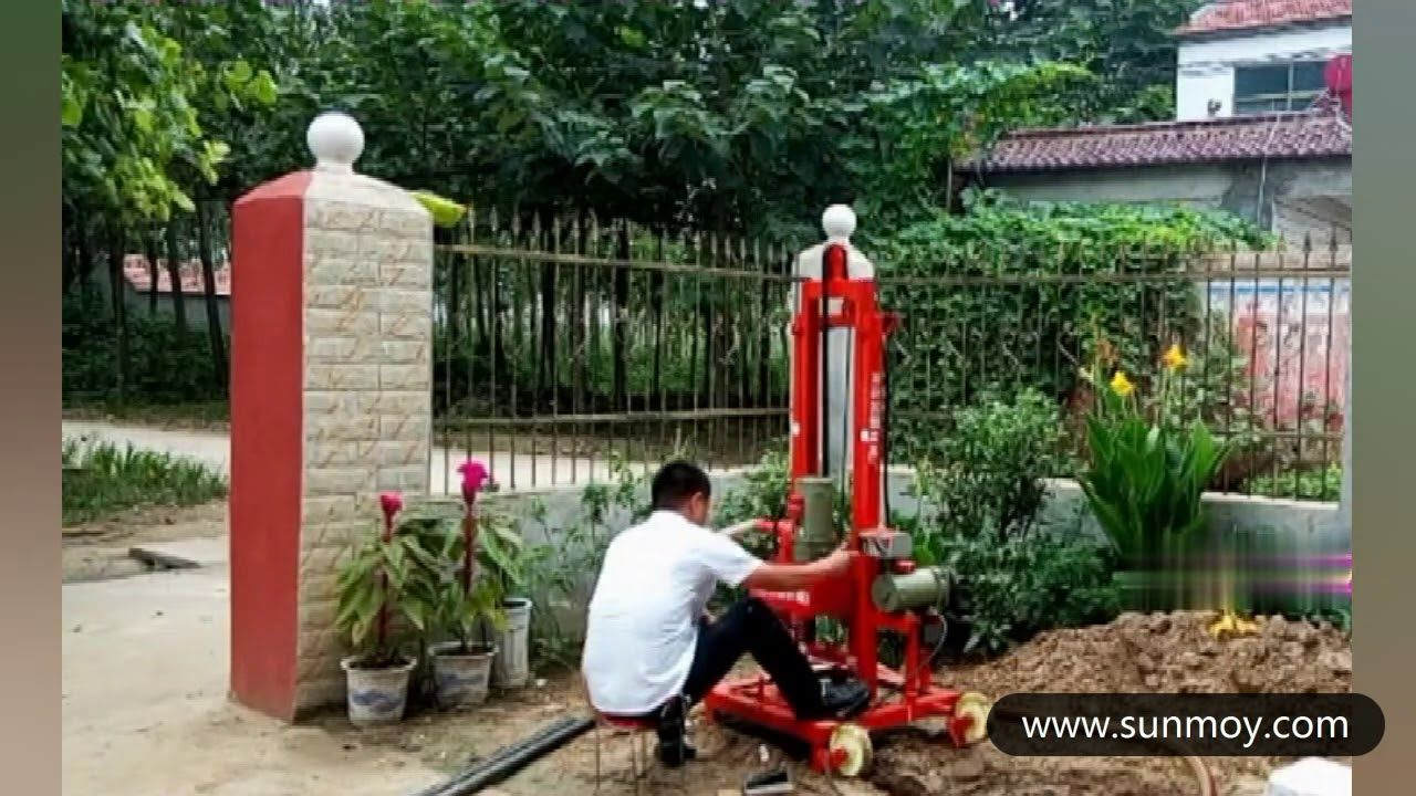 Portable Water Well Drilling Rig Small Drilling Rig Mini Drilling Rig Water Well Drilling Rigs Water Well Drilling Well Drilling