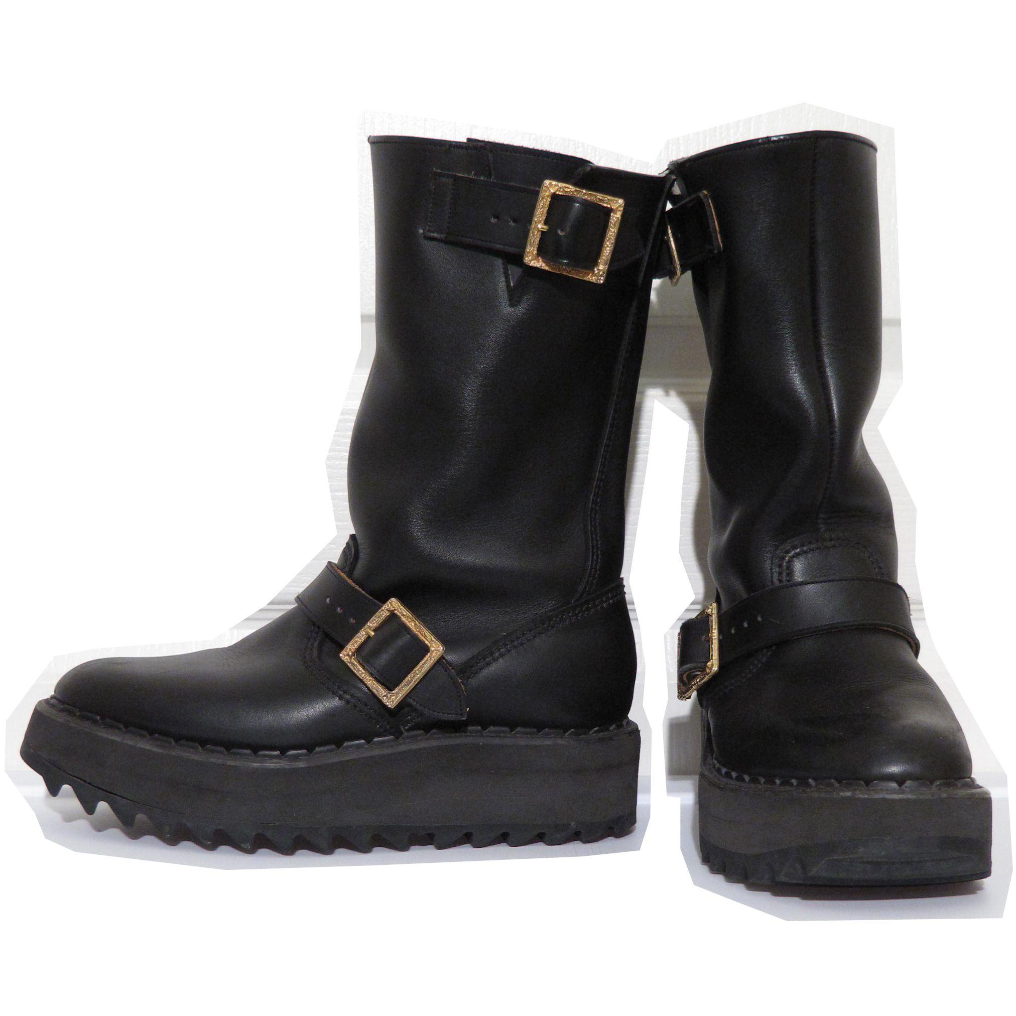 Vivienne Westwood Vintage George Cox Engineer Boots ...