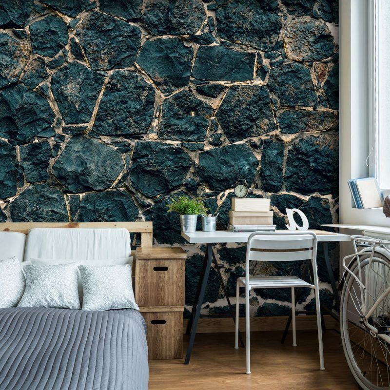 Steinoptik Wand  20 Erfinderische Ideen Wanddesign Ideen   Kreative  Wandgestaltung Wohnzimmer
