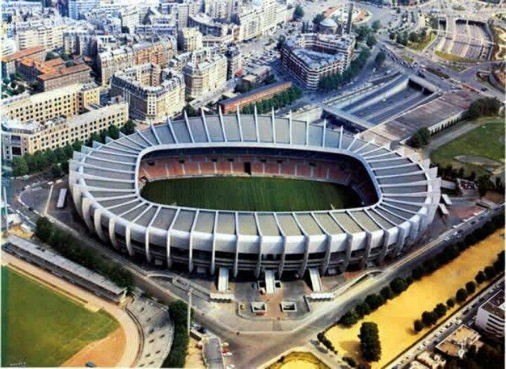 Stade Parc Des Princes (Paris, France) By Roger Taillibert ...