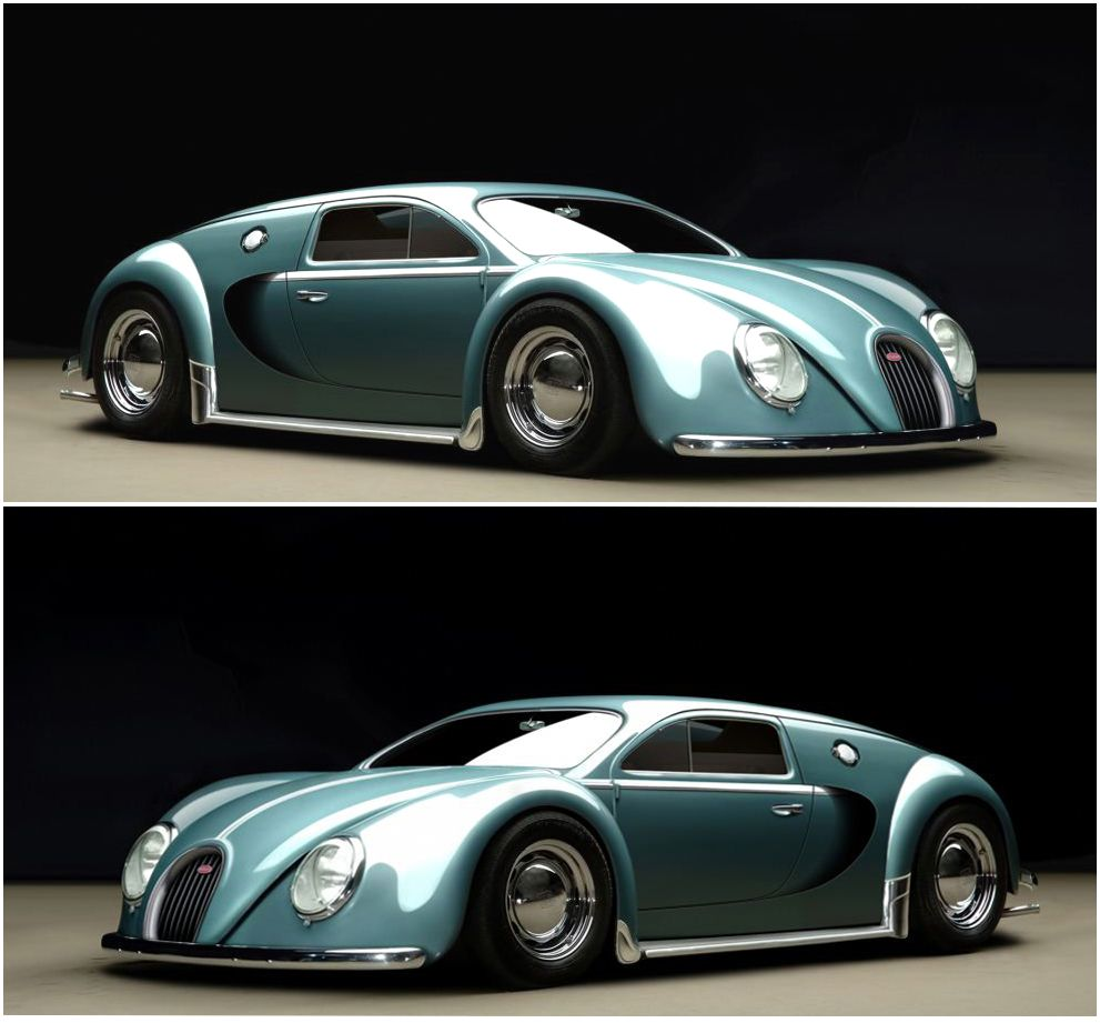 1000 Images About Bugatti Car On Pinterest: 1945 Bugatti Veyron Concept