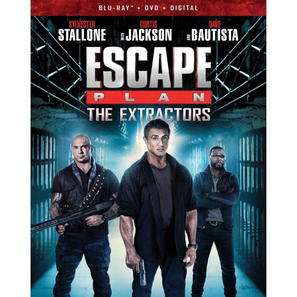 Escape Plan The Extractors Blu Ray Dvd Digital Escape Plan Sylvester Stallone Sylvester