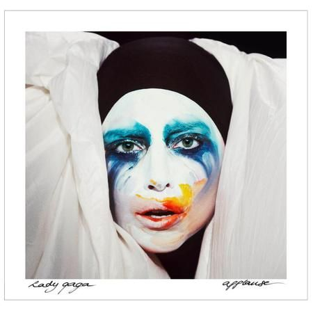lady_gaga_applause_single_cover_clown_makeup_popart.jpg (450×450)