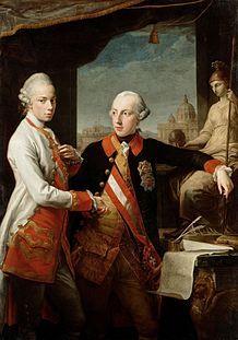Leopoldo Ii Izquierda Con Su Hermano José Ii De Habsburgo En 1769 Ambos Hijos De Maria Ter Sacro Imperio Romano Sacro Imperio Sacro Imperio Romano Germanico