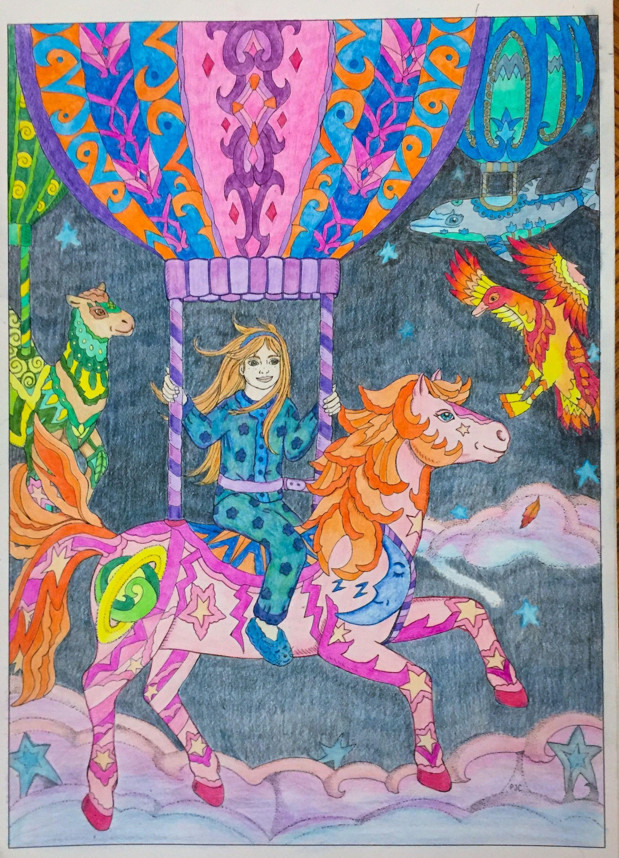 Sweet Dreams Color Me 4 Adult Colouring P J C Smart