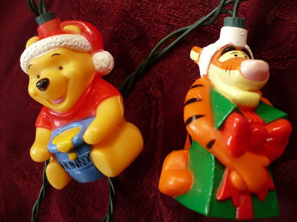 vintage disney winnie the pooh christmas lights holiday pooh tigger piglet disneywinniethepooh