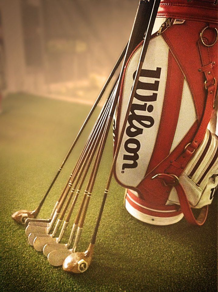 wilson clubs Vintage golf