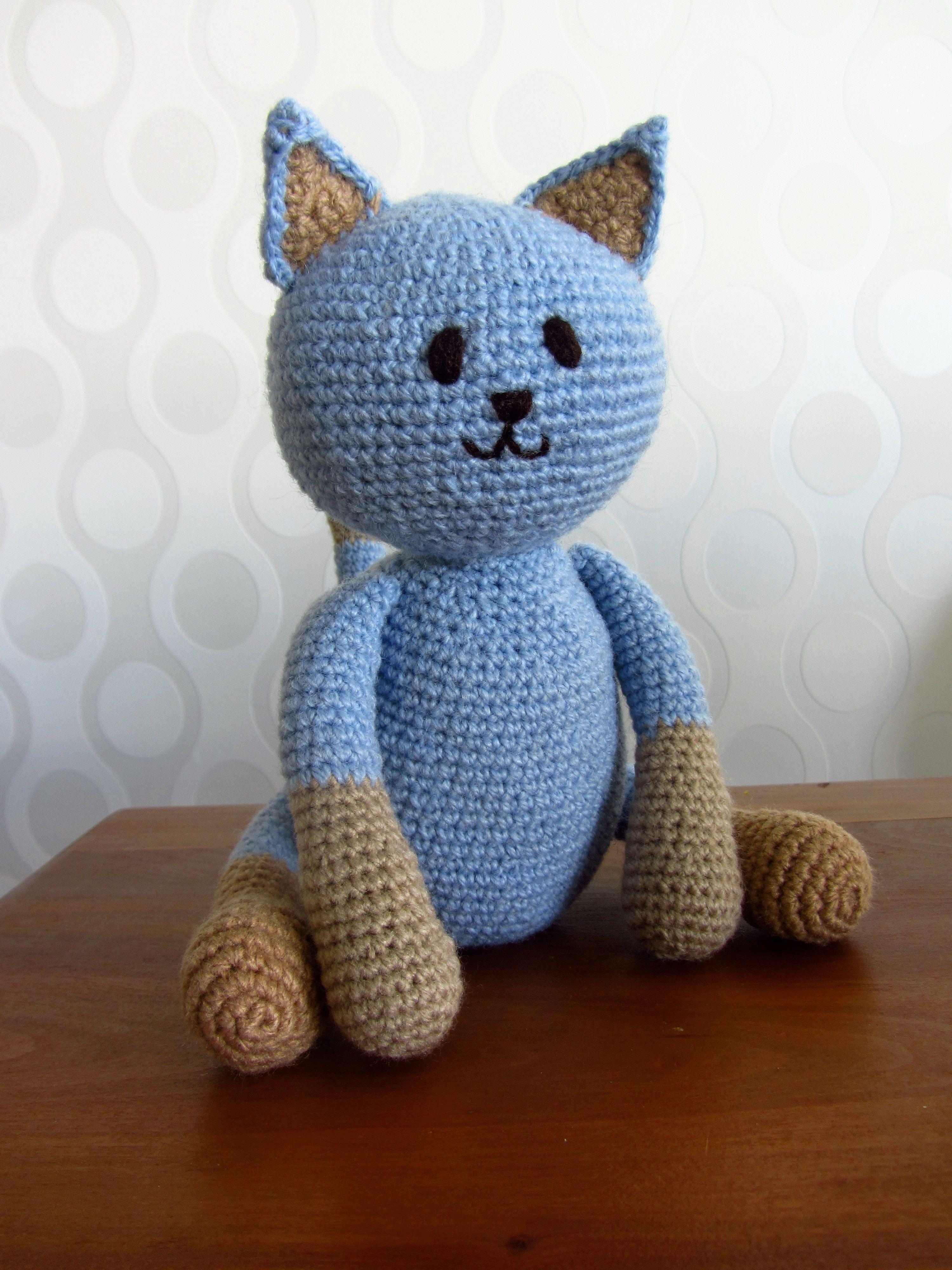 amigurumi cat, crochet cat, crochet kitten, amigurumi animals, gato ...
