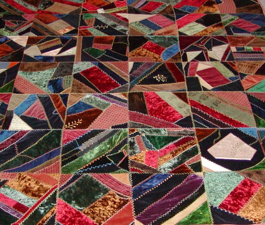 Crazy Quilts | on it my interest in crazy quilt history started ... : crazy quilt projects - Adamdwight.com