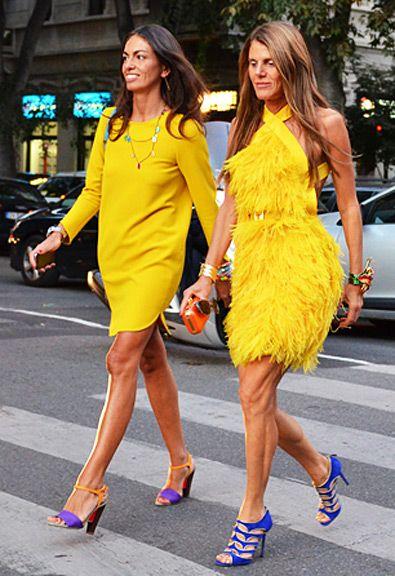 MODA DE RUA 2012- Editoras de Moda mostram seu estilo nas principais semanas de moda do planeta, Confira!