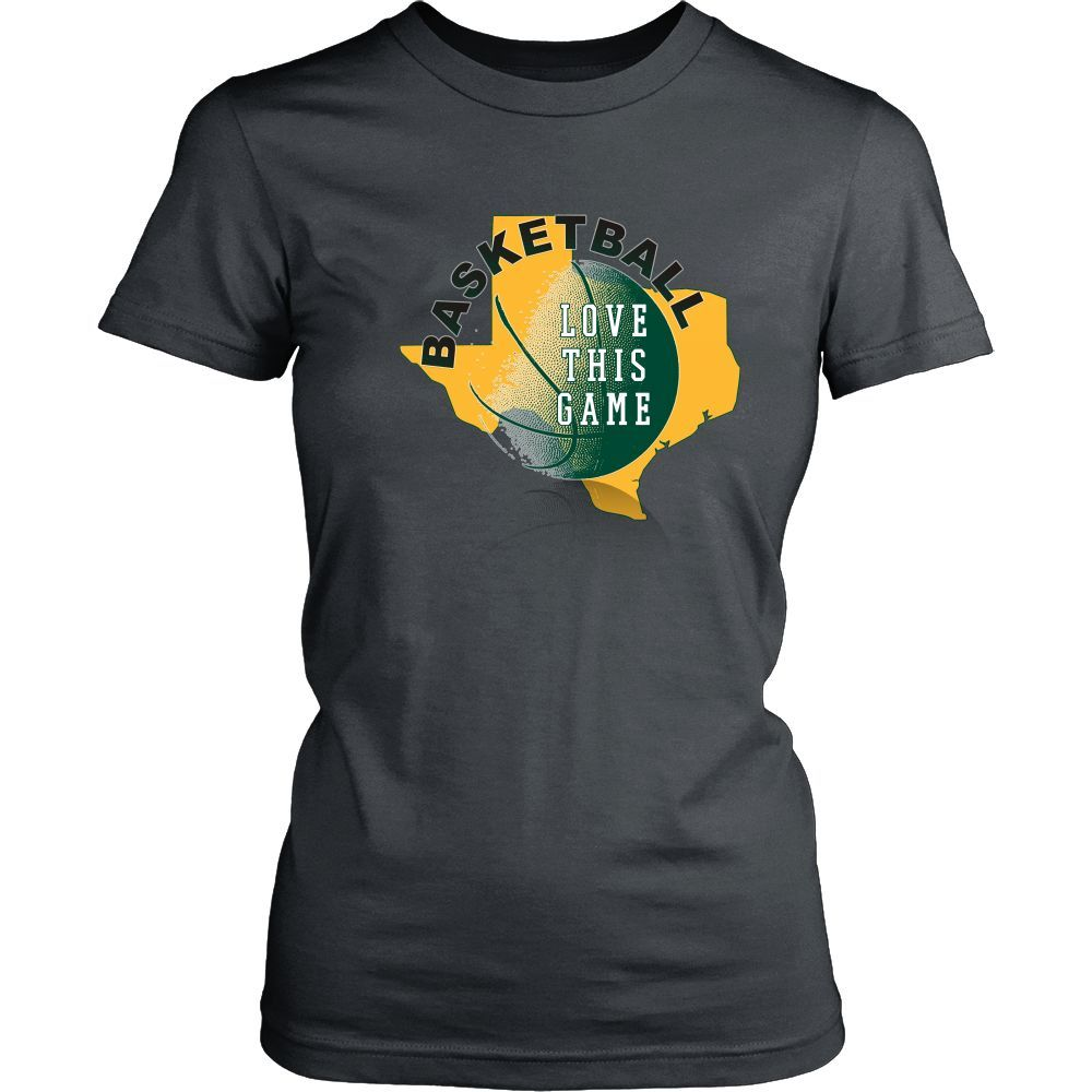 Baylor Basketball Love This Game Women's T-Shirt Classic Fit