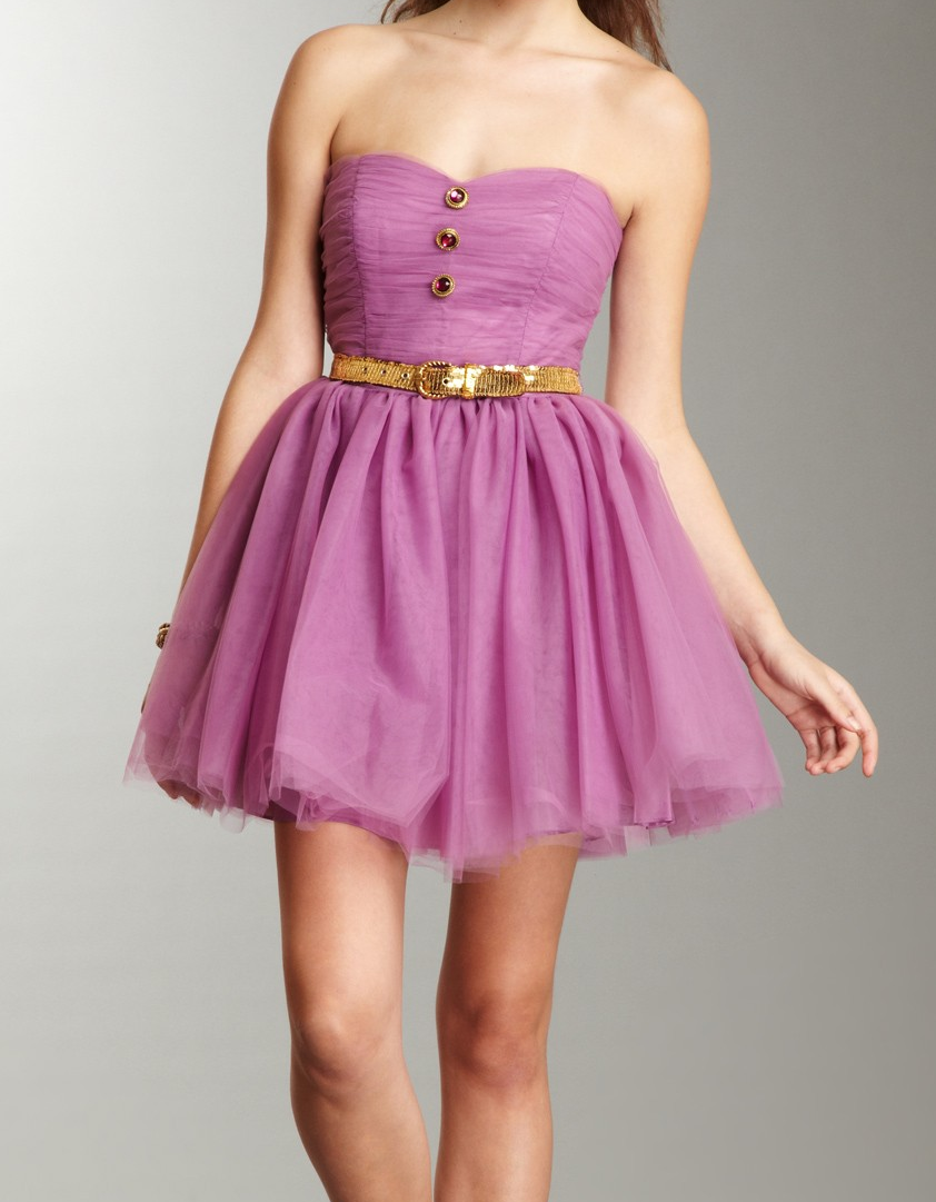 Lavender Party Dress   Betsey Johnson MY DRESS but this one is shorter AND  i can prolly make this in a day. 9a0f42c1d