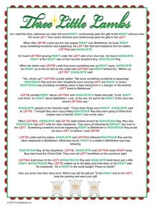 Right Left Christmas Game | Christmas | Pinterest | Gaming ...