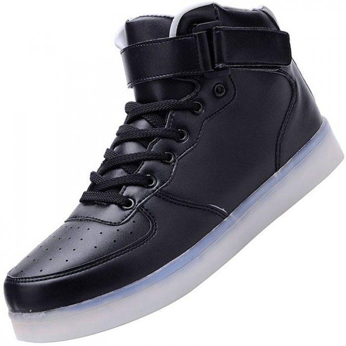 avant Adulte Montante Chaussure Led NoirChaussures Lumineuses L QsthrdCx