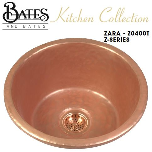 Bates & Bates Kitchen Sink - Z0400T Zara Z Series - Textured (6 ...