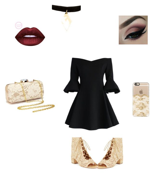 """""""The Dark and Light Side"""" by kendra161302017 on Polyvore featuring Laurence Dacade, Casetify, Chicwish and Vanessa Mooney"""