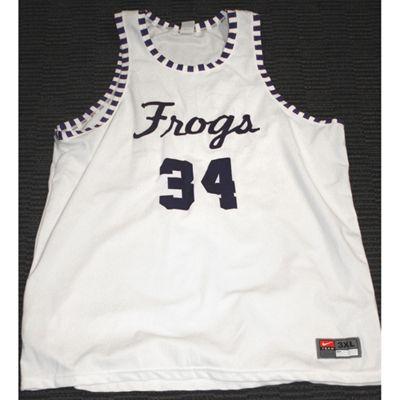 12454c7082e TCU Basketball Throwback Jersey | RIFF RAM | Mens tops, Tank man ...