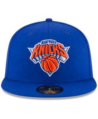 New Era New York Knicks Solid Team 59FIFTY Cap - Blue 7 1/4