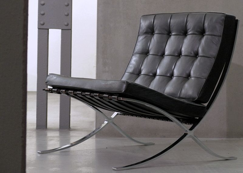 The Barcelona Chair By Ludwig Mies Van Der Rohe Furniture
