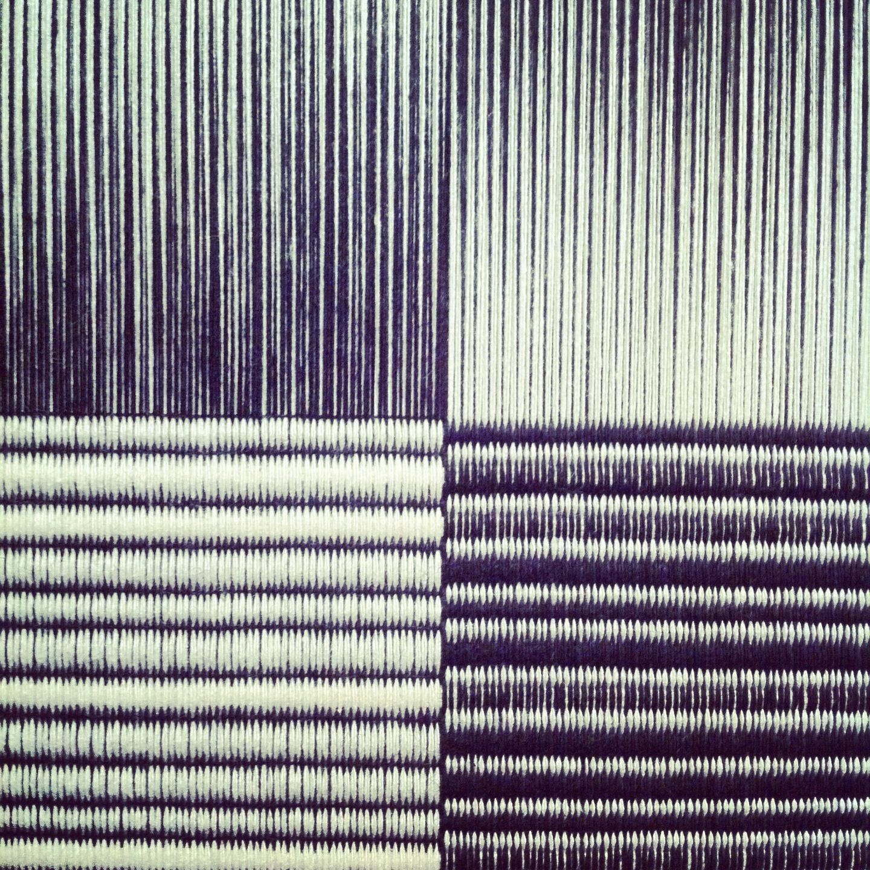 Weaving based on the work of Ryoji Ikeda | ilse acke <-- lovely ...