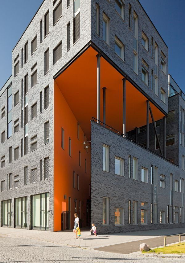 Photo of Modern architecture  #colective  #housing  #architecture colective housing architecture, wooden