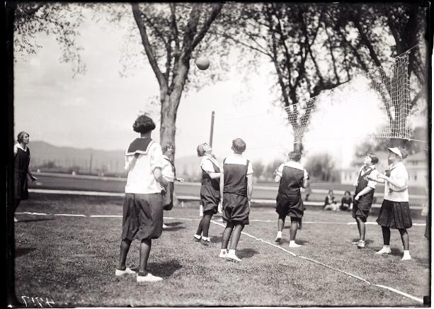 Annual play fete. 1926. University Archive, Archives and Special Collections, CSU, Fort Collins, CO