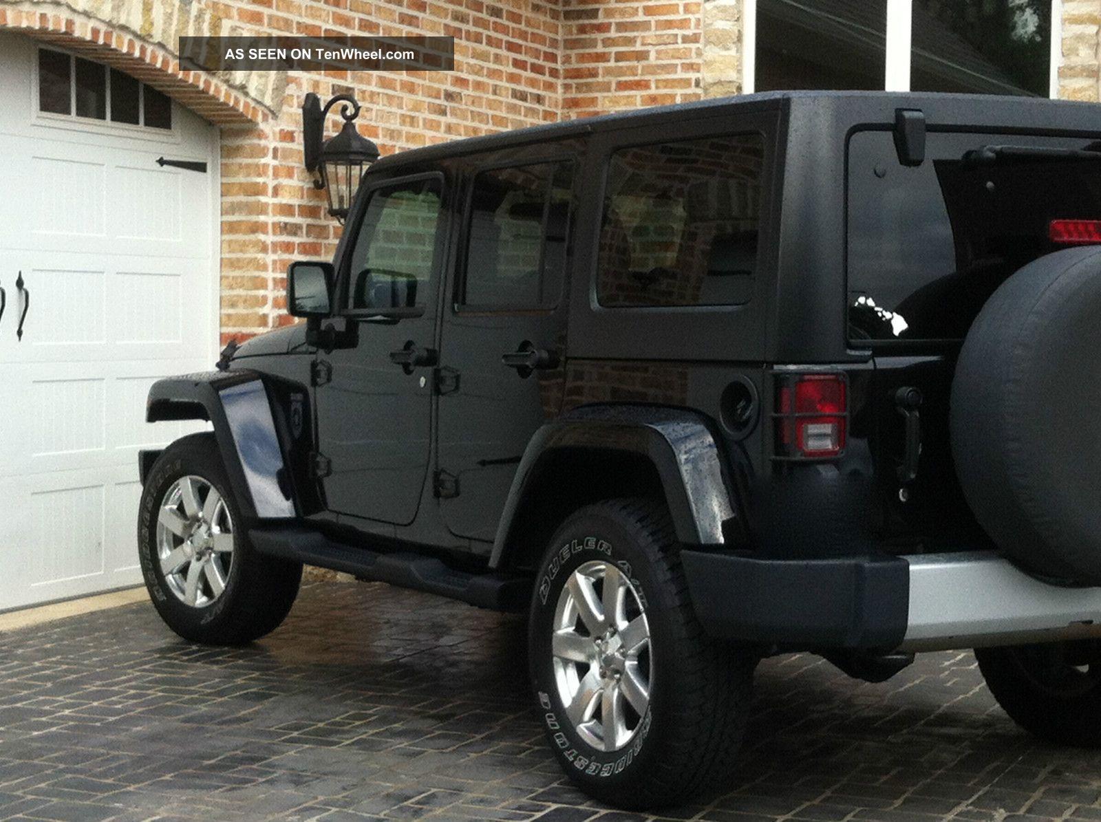Jeep Wrangler Sport 4 Door Black   Recherche Google