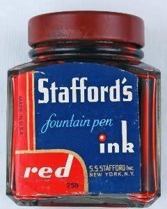 Vintage Stafford's Red