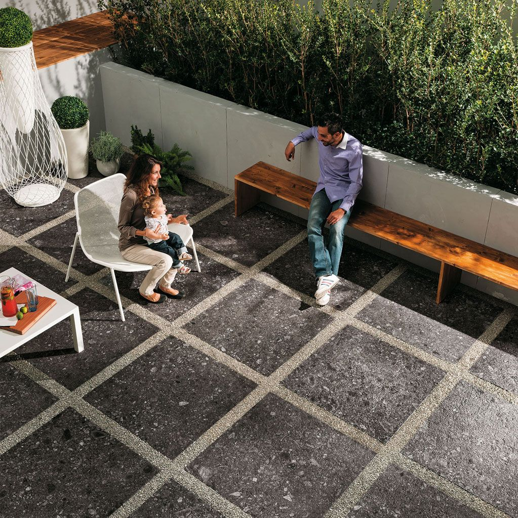 Ecco Stone Mineral 36x36 Textured Porcelain Tile. Perfect for any ...