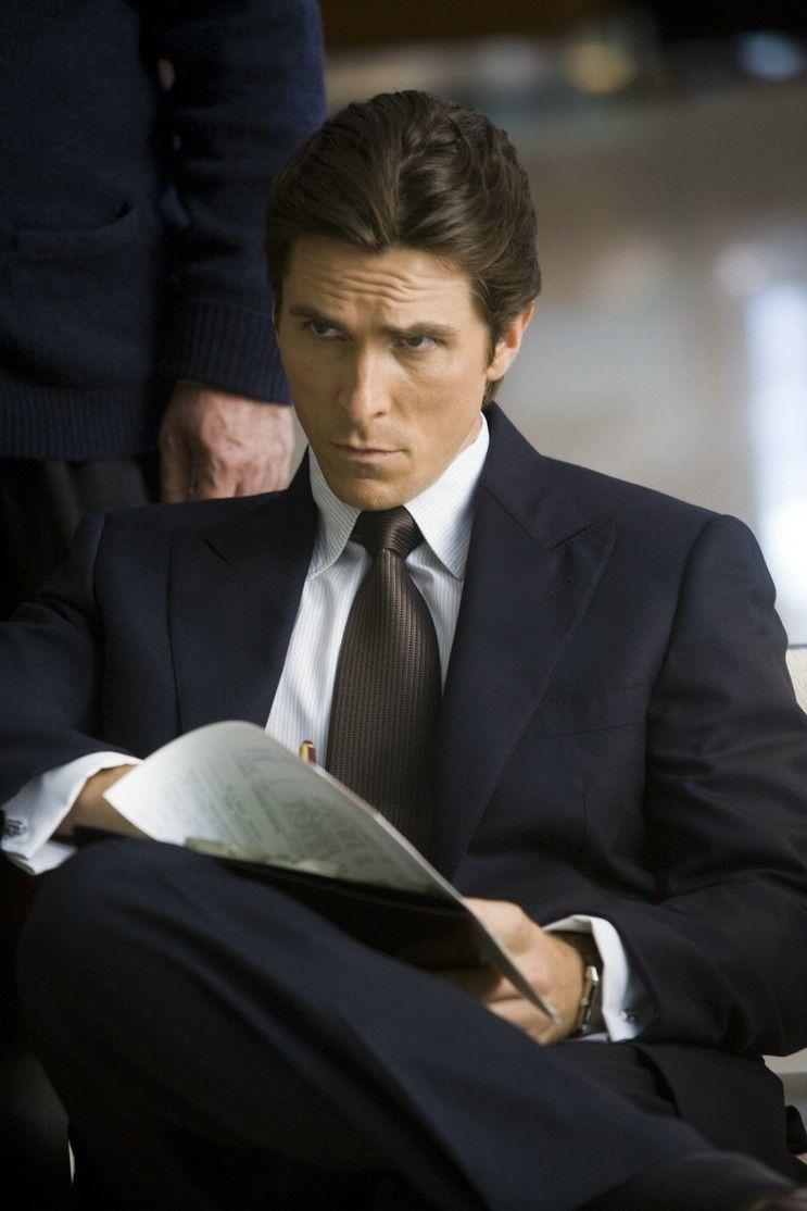 Bruce wayne christian bale