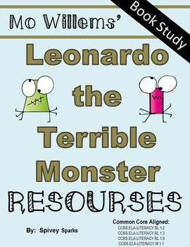 Mo Willems Leonardo The Terrible Monster Mo Willems Book Study