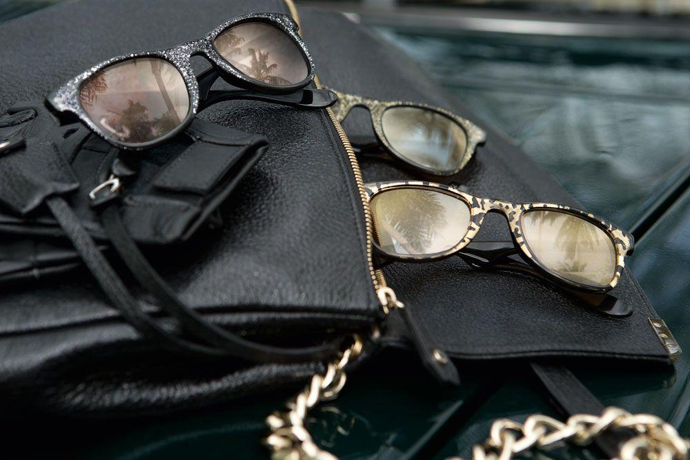 Carrera by Jimmy Choo sunglasses behind the scenes
