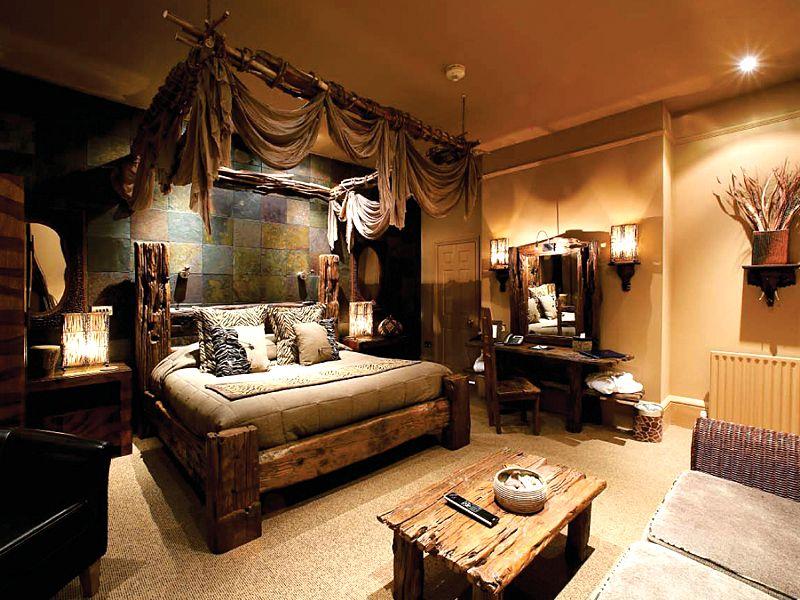 African room! ) oh my gosh! love!!! African bedroom