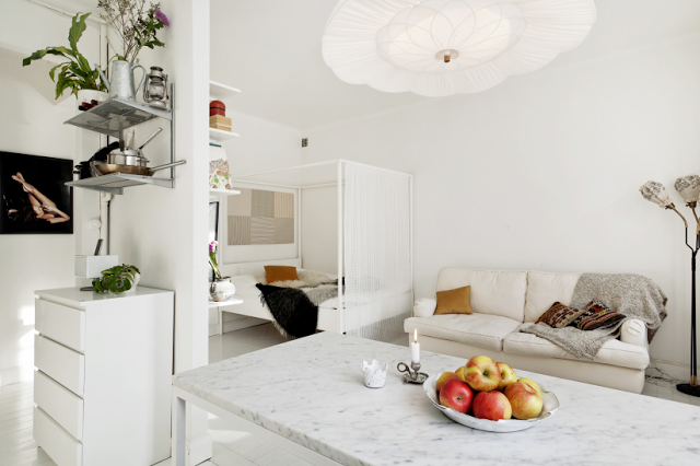 Stockholm apartment. #compactliving