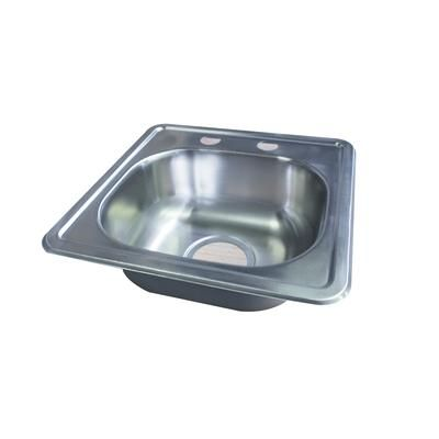 $41.76 Acri Tec   Stainless Steel Bar Sink, Single Bowl   240204   Home