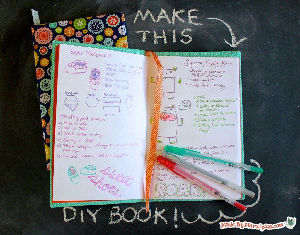 DIY Hardcover Book Tutorial, Part 1 Book binding diy