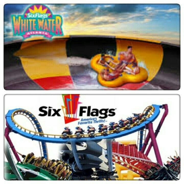 Live Life Half Price Discounts To Six Flags Over Georgia And Six Flags Whitewater Get Admission To Six Flags Over Georgia For 33 Whitewater Six Flags Flag