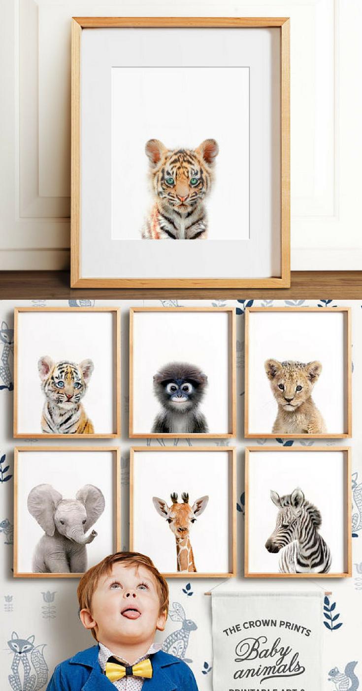 Safari Nursery Decor Printable Art Safari Animal Prints Nursery Wall Art Nursery Safa Nursery Wall Art Printable Animal Wall Decor Nursery Nursery Room Art