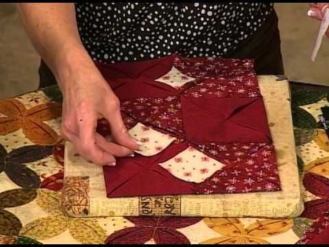 how to quilt - Cathedral Windows quilts machine sewn video ... : youtube patchwork quilt videos - Adamdwight.com