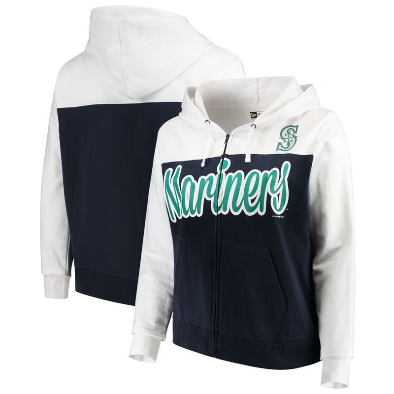 Seattle Mariners 5th & Ocean by New Era Women\'s Plus Size French ...