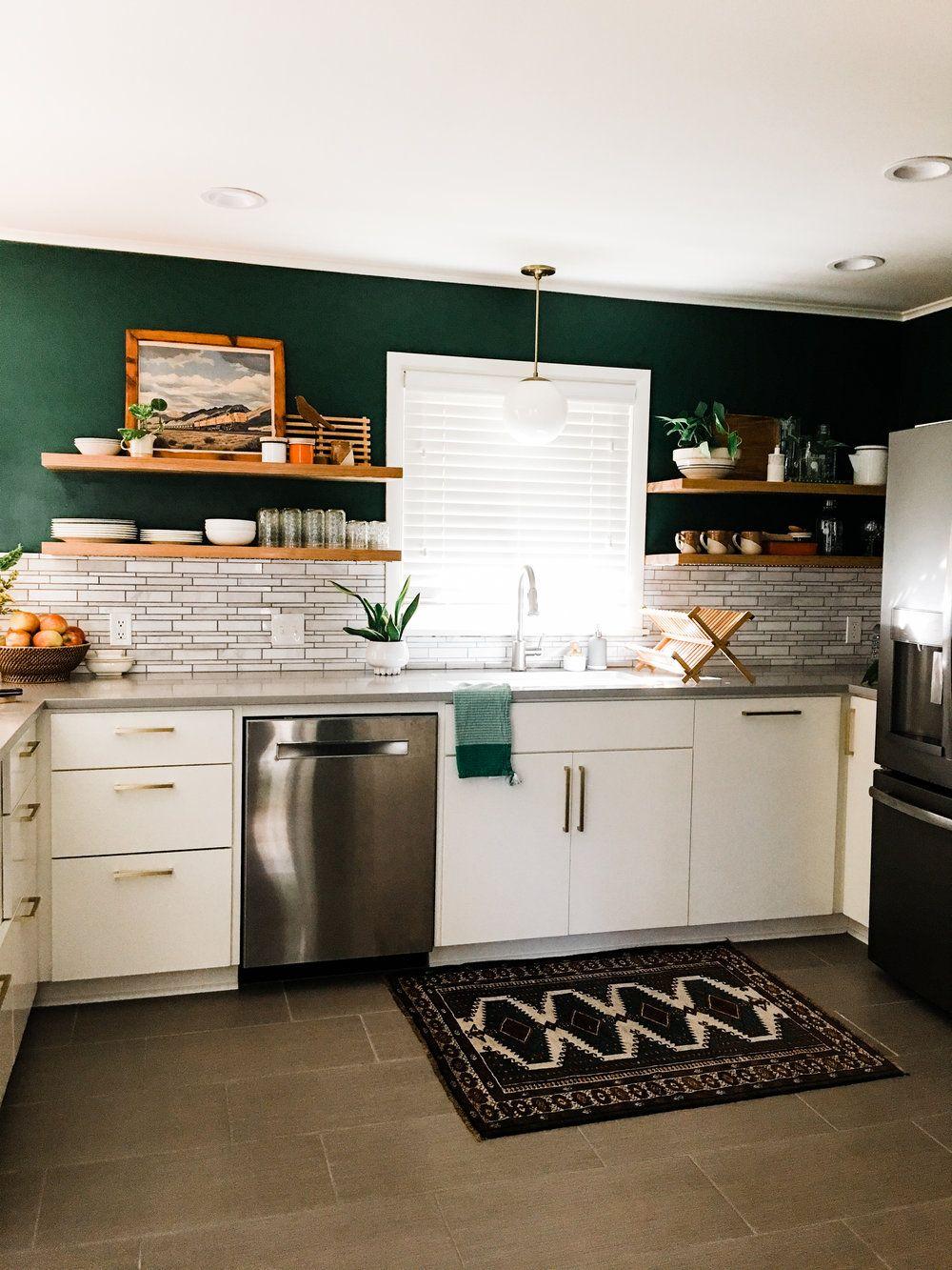 Colorful Vintage Modern Kitchen Renovation In Tulsa Ok Retro Den Vintage Furniture And Homewares Modern Kitchen Renovation Kitchen Design Small Kitchen Dining Room Combo